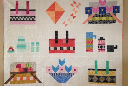 Picnic quilt – spring special – all 9 patterns for $30